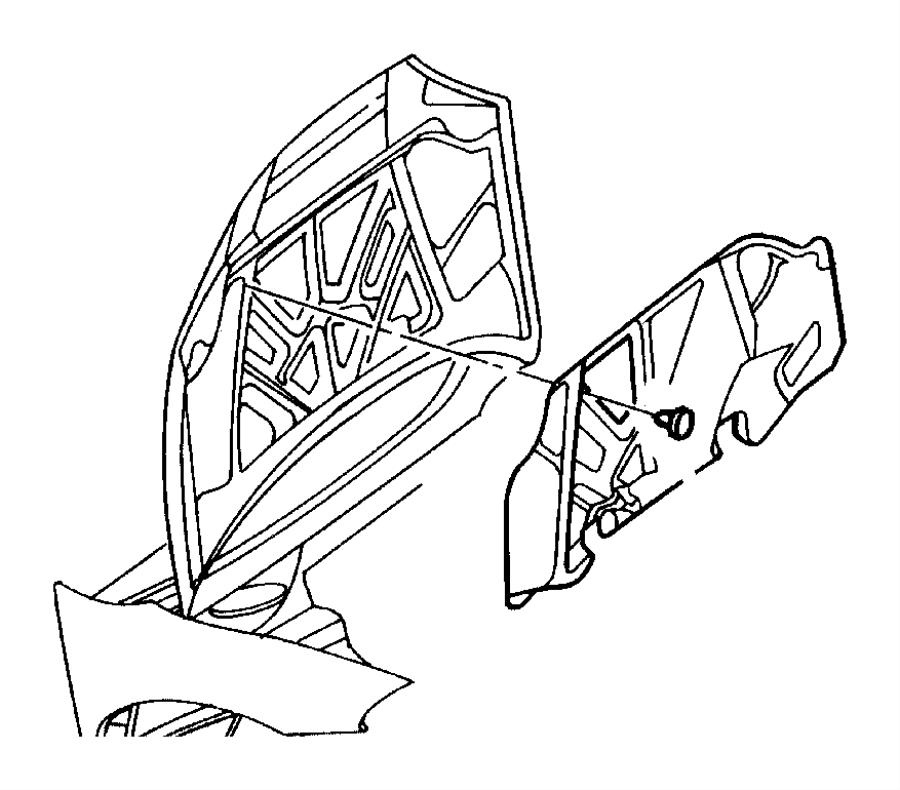 1998 dodge intrepid exhaust diagram