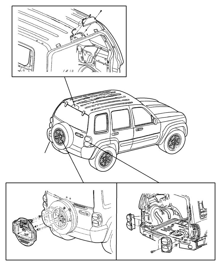 2006 jeep liberty lighting diagram