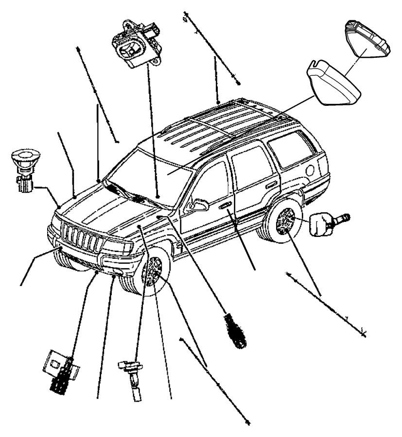 1999 Mercury Marquis Fuel Filter Location