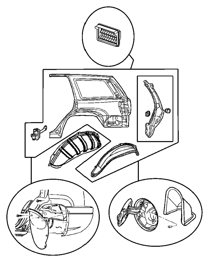2004 jeep grand cherokee liftgate diagram