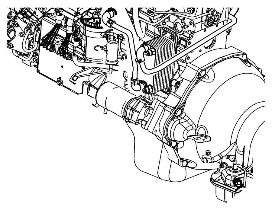2004 dodge ram 3500 automatic transmission oil cooler hose. Black Bedroom Furniture Sets. Home Design Ideas