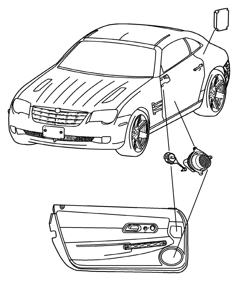 Chrysler Crossfire Radio Wiring Diagram