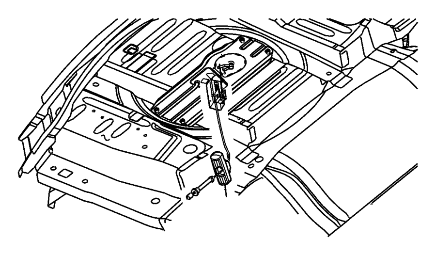 dodge caravan rear seat belt diagram