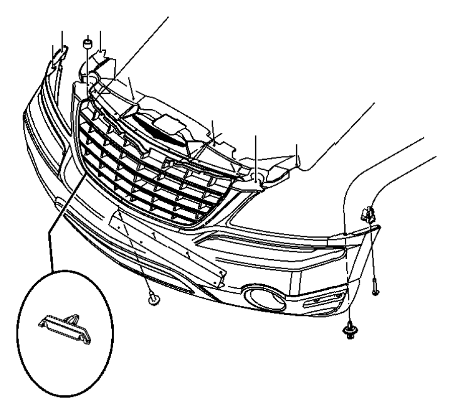 Chrysler Pacifica Front Bumper Diagram ImageResizerTool Com