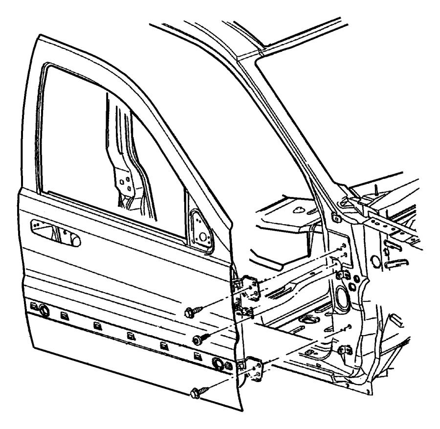 diagram of jeep liberty door molding