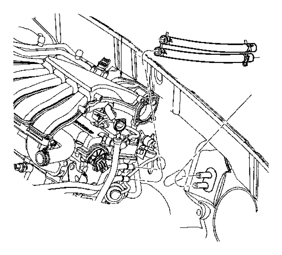 Pt Cruiser Radiator Hoses Diagram Com