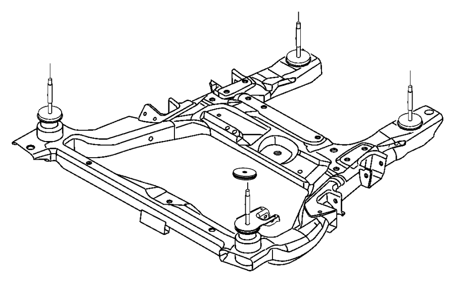 04743499AB on 2004 Chrysler Pacifica Exhaust Diagram