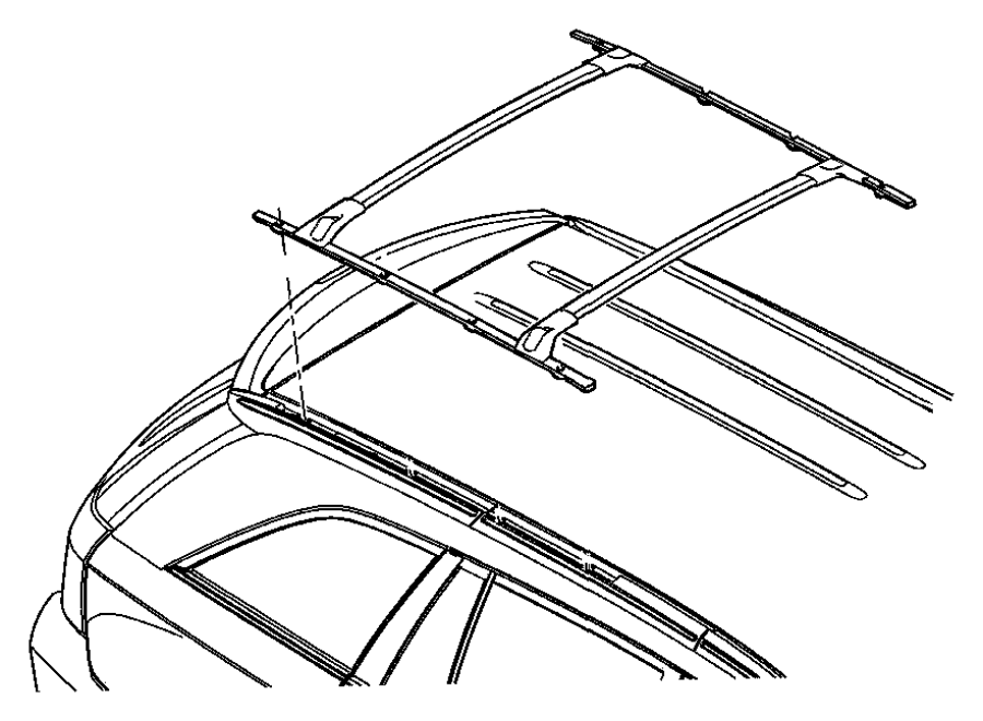 chrysler pacifica body parts