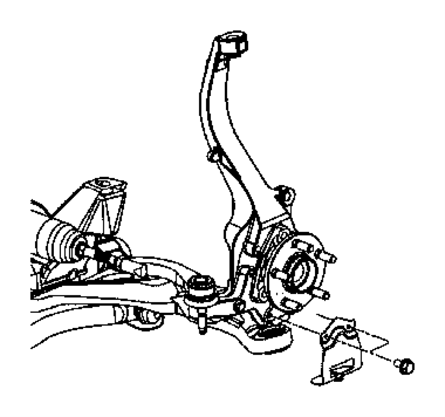 2001 dodge stratus front suspension diagram
