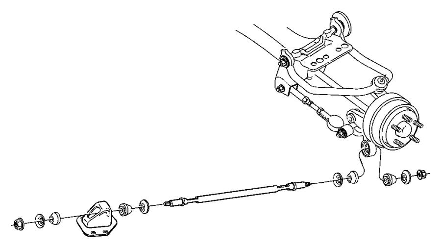 chrysler 300m rear suspension diagram