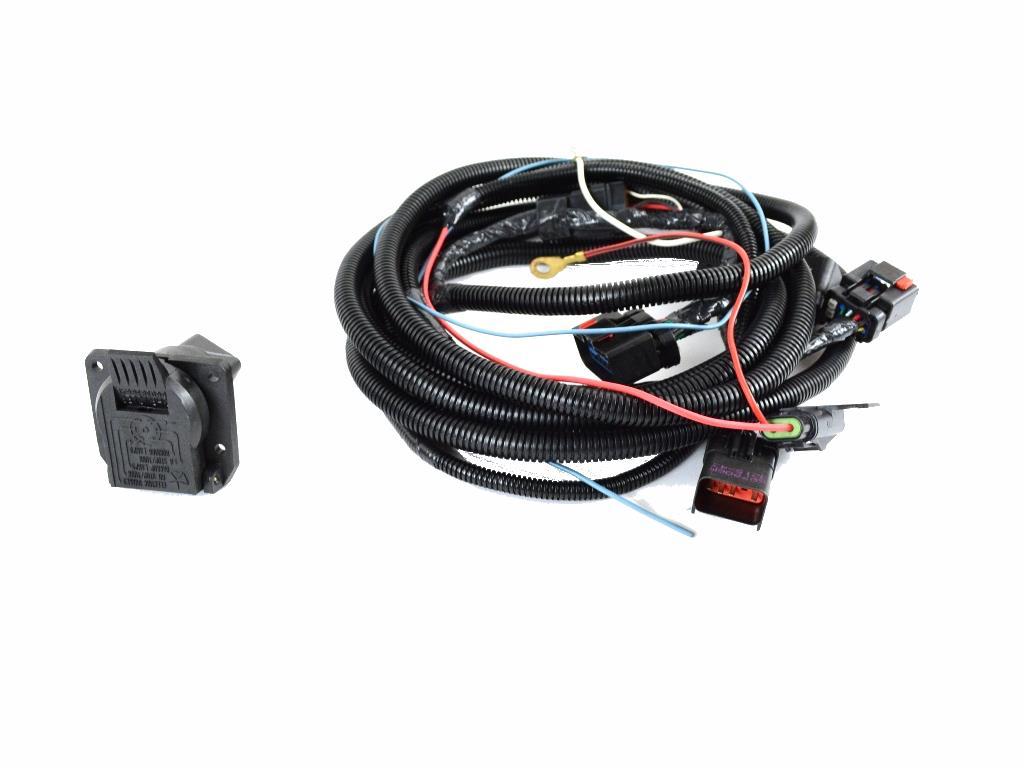 2011 Ram Dakota Trailer Tow Wire Harness Kit  With 7