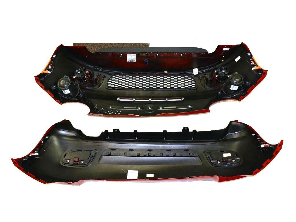 2015 Fiat 500 Front And Rear Fascia Kit  Sport Model