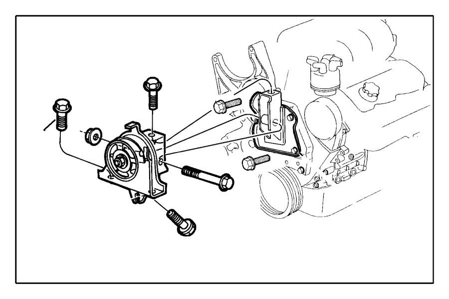 2006 chrysler pacifica alternator bolt bolt compressor. Black Bedroom Furniture Sets. Home Design Ideas
