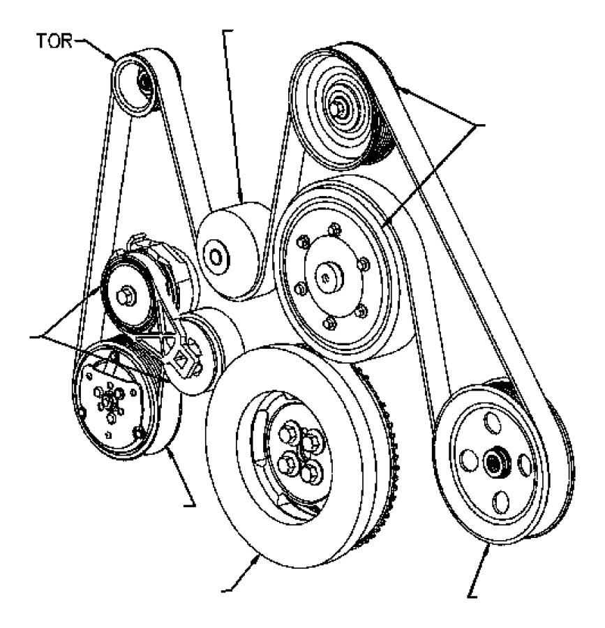 2004 Dodge Ram 2500 Serpentine Belt Diagram