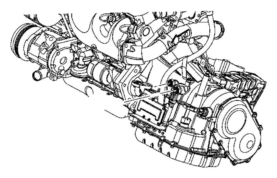 2012 dodge avenger bumper diagram