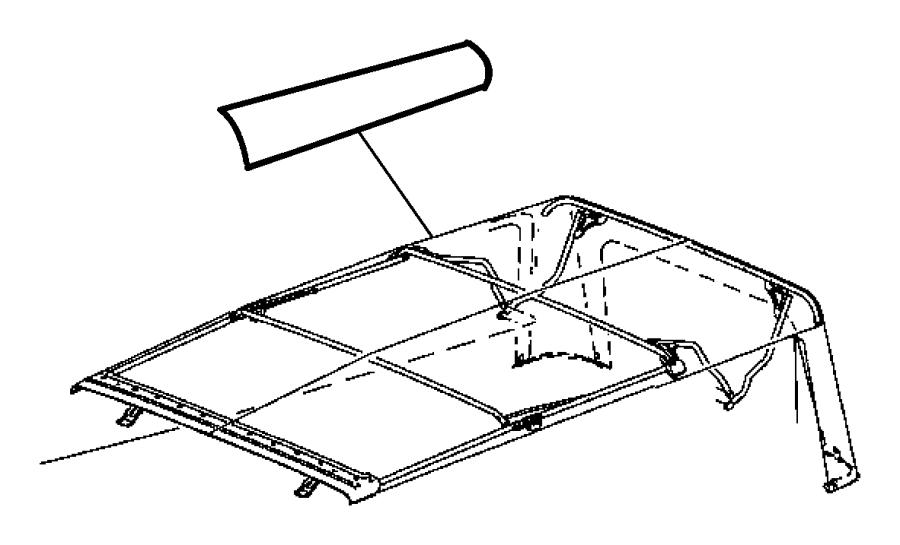 jeep wrangler soft top parts diagram