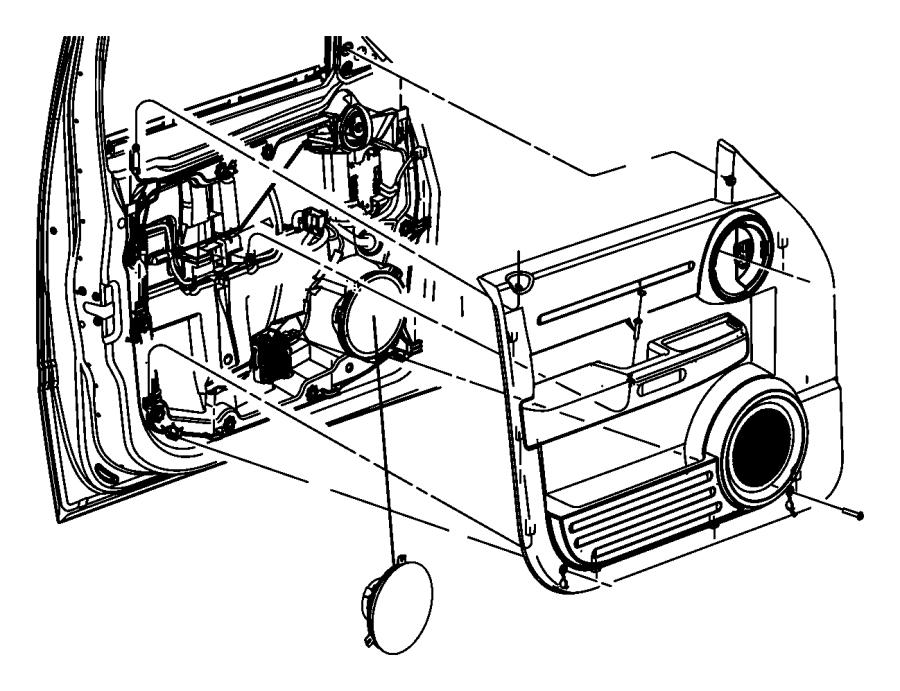 2011 dodge nitro body diagram