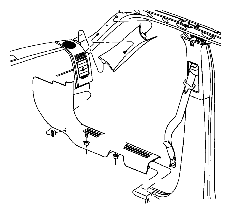 2007 dodge nitro window diagram