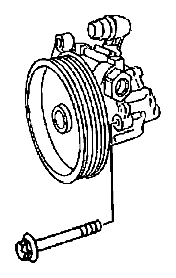 dodge avenger pulleys diagram