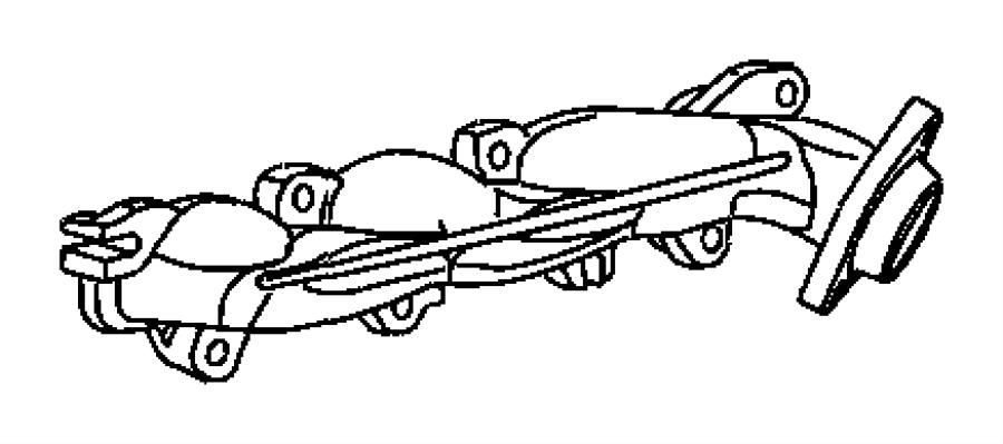 2005 dodge magnum exhaust diagram