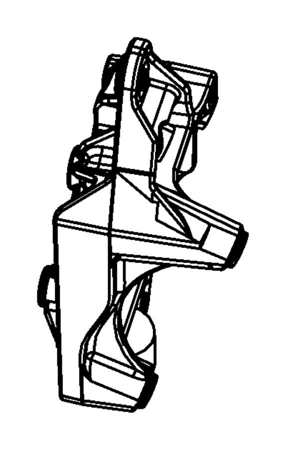 2008 dodge avenger parts diagram engine cover