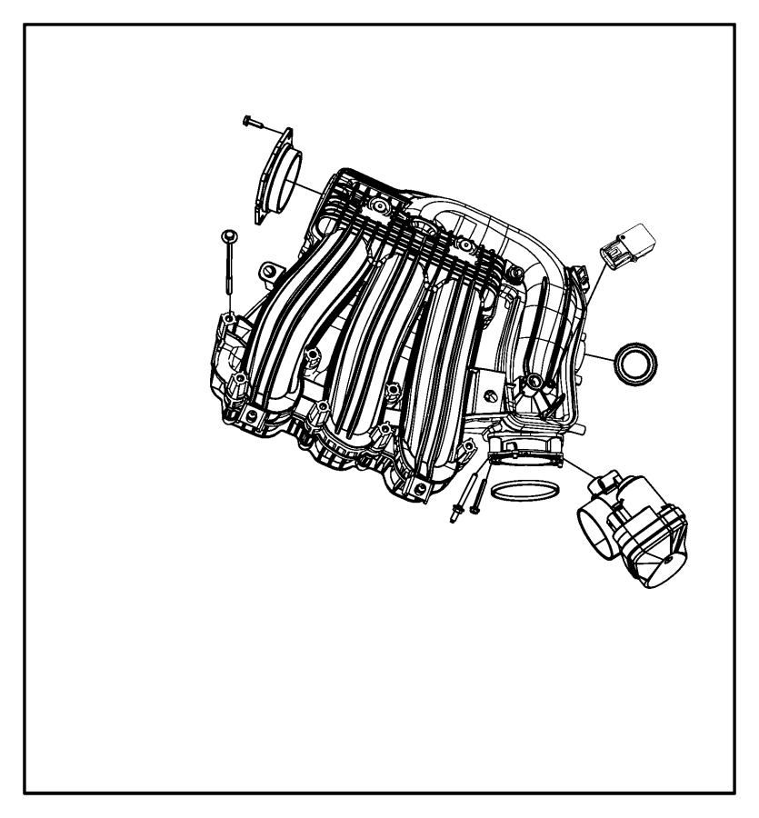 2002 Dodge Intrepid Intake Diagram