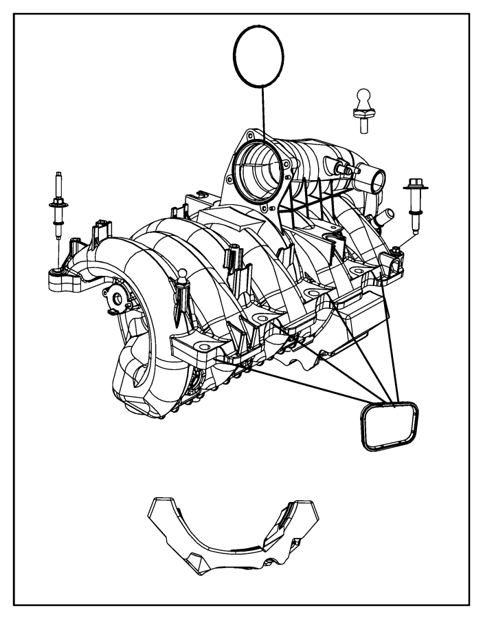 2006 jeep commander intake diagram