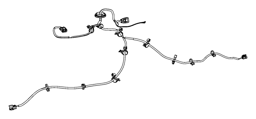 2007 dodge nitro fuel tank  wire harness  wiring  dodge  jeep