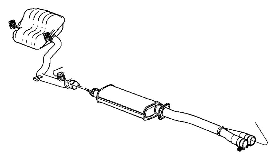 2012 dodge avenger exhaust system