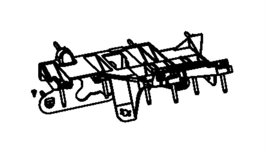 2011 dodge nitro steering column diagram