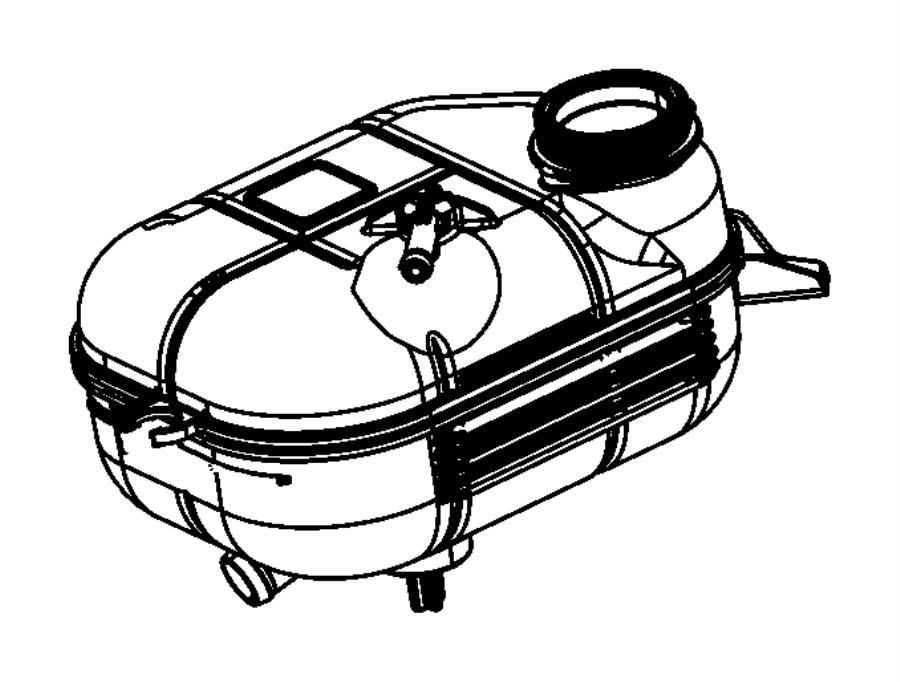 dodge dart radiator diagram