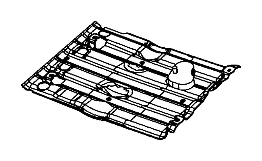2007 jeep commander radiator diagram