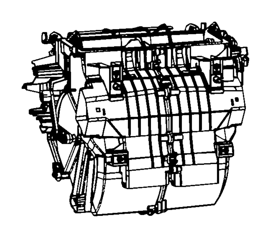 2009 dodge journey blower motor diagram