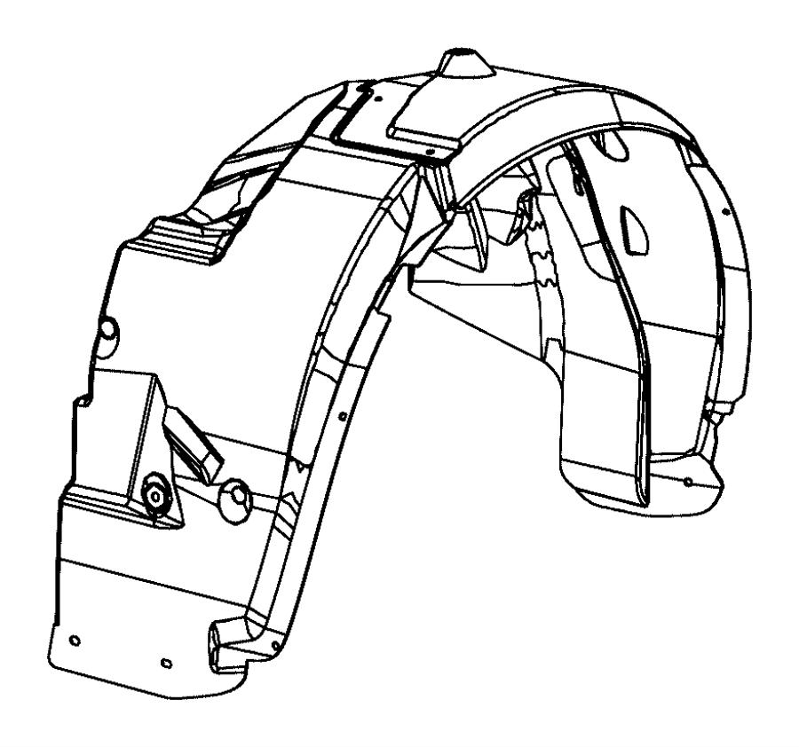 2013 chrysler 200 bumper diagram
