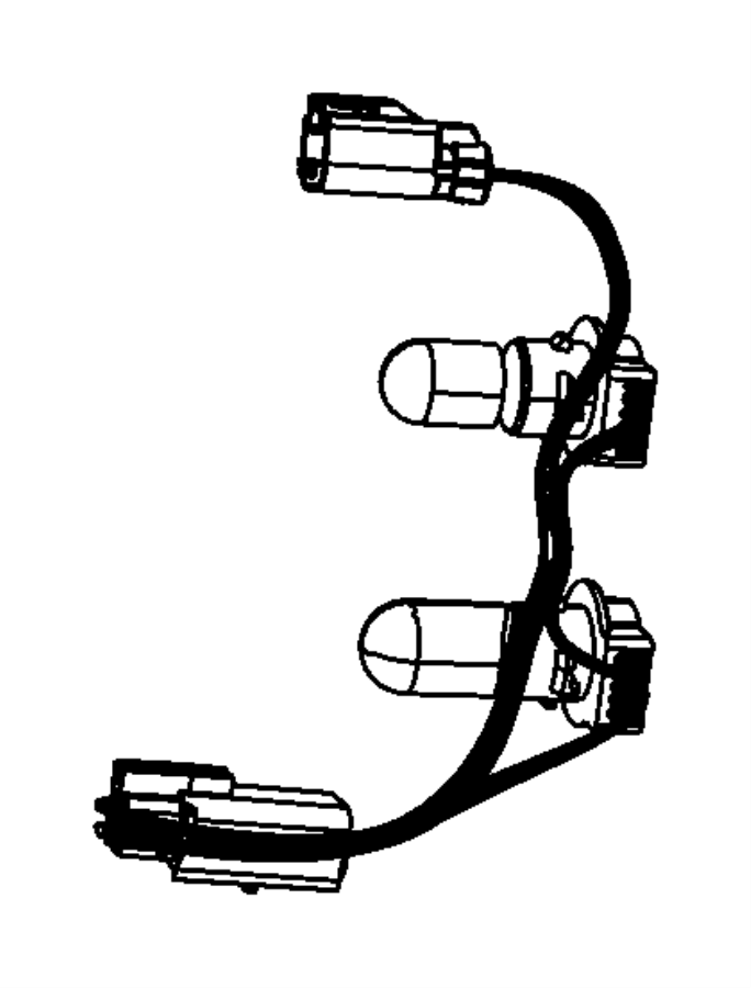 2016 jeep compass socket  u0026 wire  taillamp  wiring  part