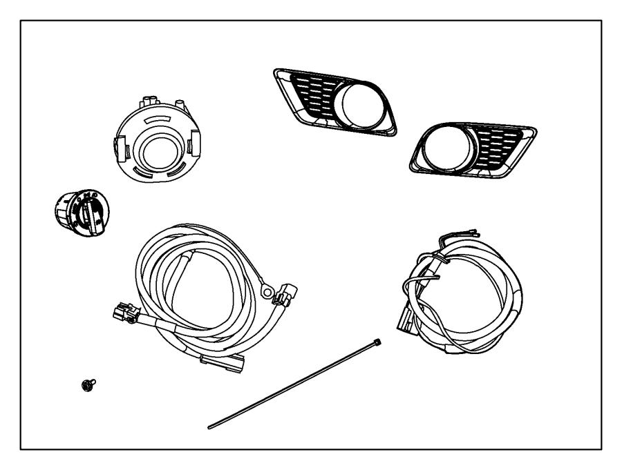 2014 dodge charger bumper diagram