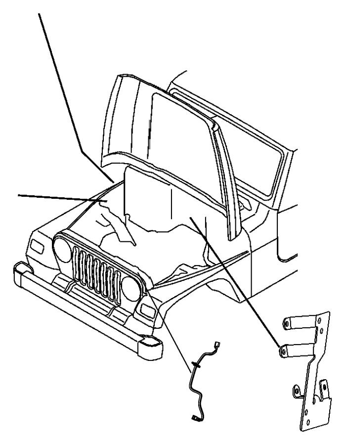 2017 jeep wrangler headlight wiring harness connector