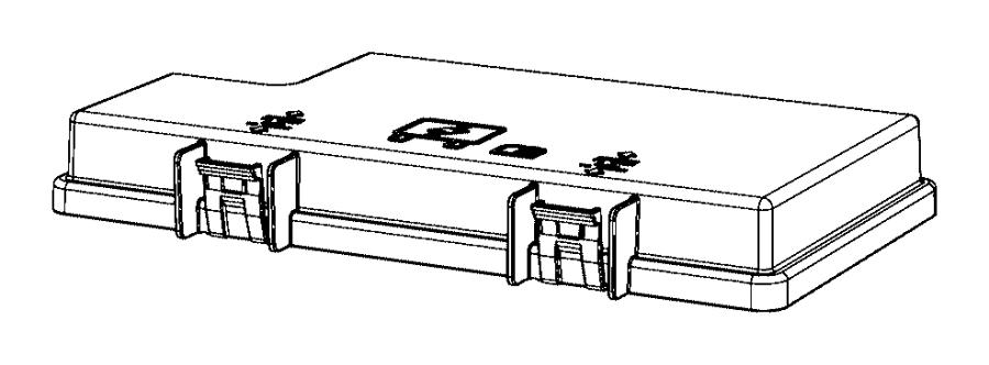2015 jeep wrangler fuse box cover  upper cover  chrysler