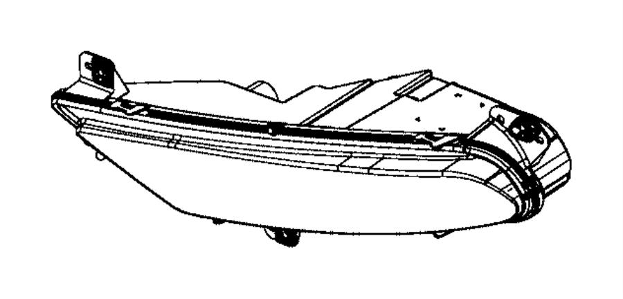 2017 chrysler 300 front bumper diagram