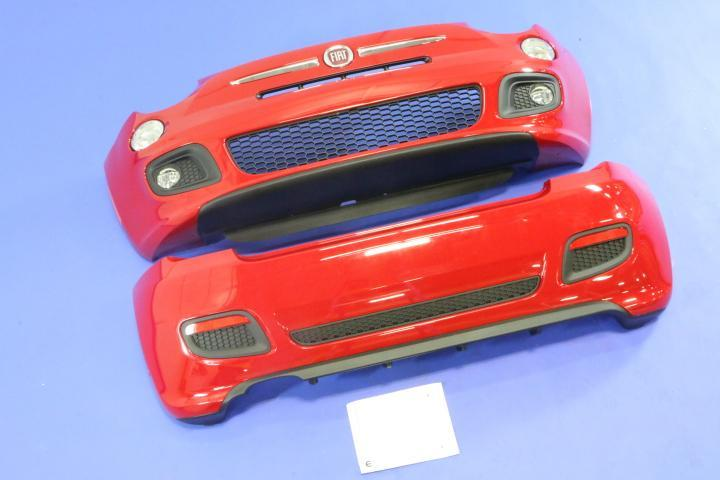 2012 Fiat 500 Front And Rear Fascia Kit  Sport Model
