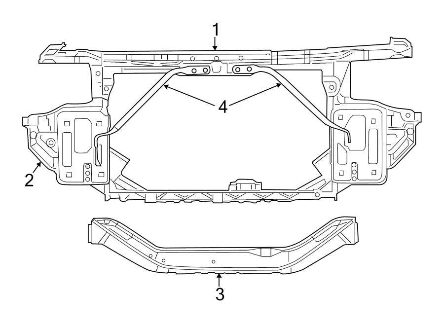 2011 Chrysler 200 Fender Parts Diagram Chrysler Auto