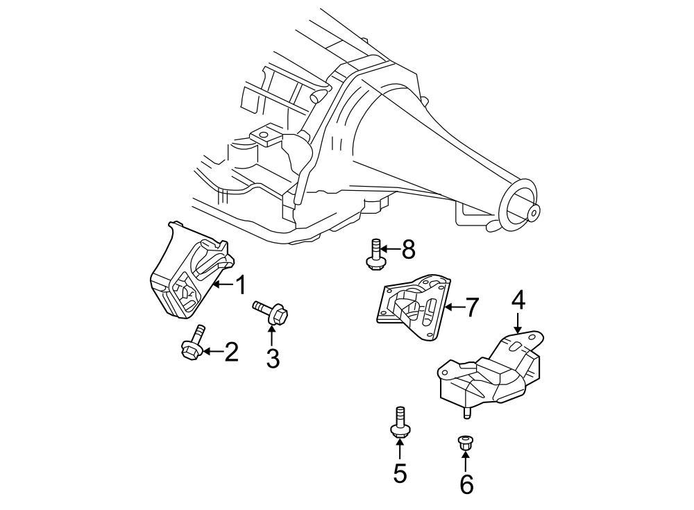 2004 dodge ram 2500 manual transmission mount rear mount. Black Bedroom Furniture Sets. Home Design Ideas