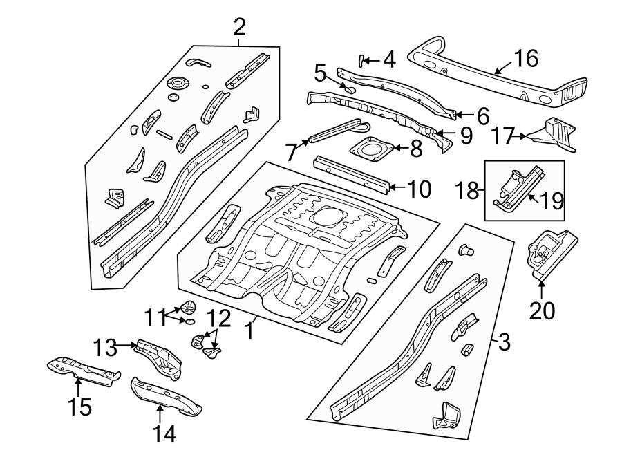 vehicle frame control arm diagram