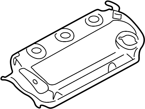 2002 chrysler sebring oil pan diagram