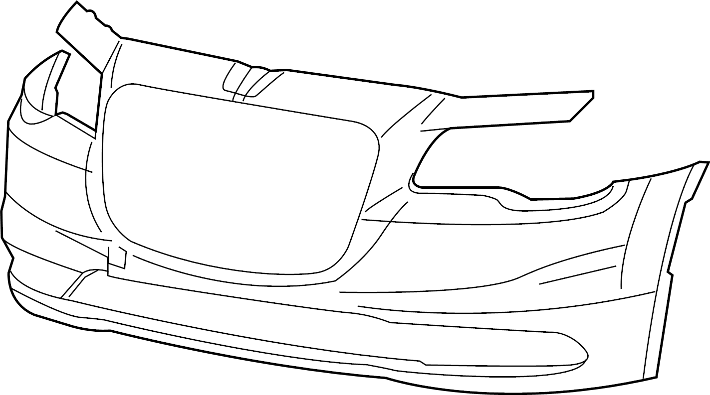 chrysler 300 front bumper diagram html