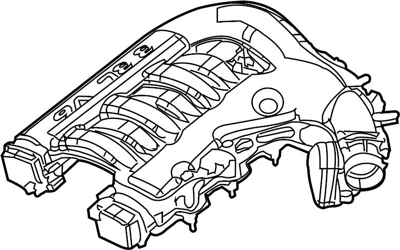 2006 dodge charger engine intake manifold  intake plenum  plenum  upper  3 5 liter  chrysler