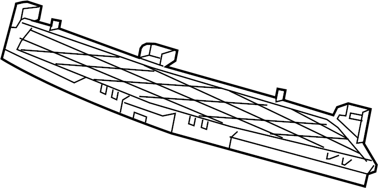 2013 dodge charger front bumper diagram