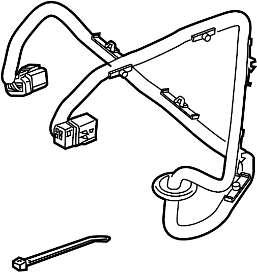 1atj5 Engine Wiring Diagram 1995 Silverado in addition 07400 03 06 Chevy Gmc Meyer Nite Saber Headlight Adapter Module Kit Drl further Marker L  Wire Harness as well Wiring Harness For 95 F150 in addition 6 00922 000. on trailer light harness kits