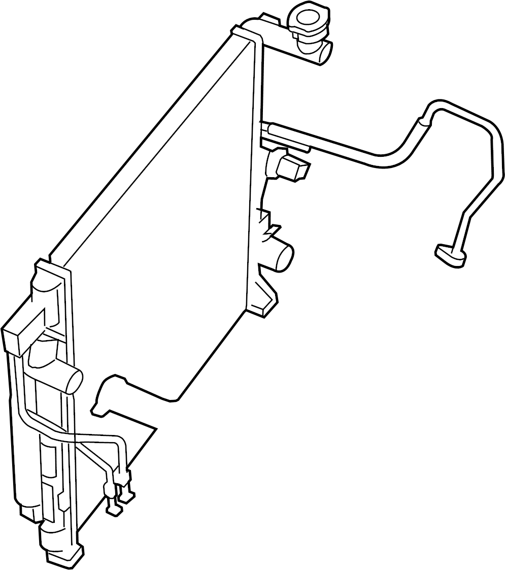 2007 dodge nitro radiator diagram