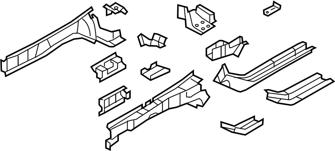 dodge journey front bumper diagram